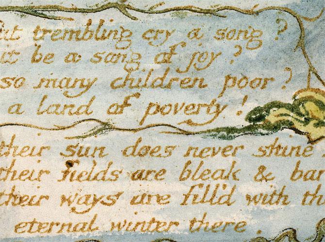 "William Blake, ""Holy Thursday"" (Experience)"