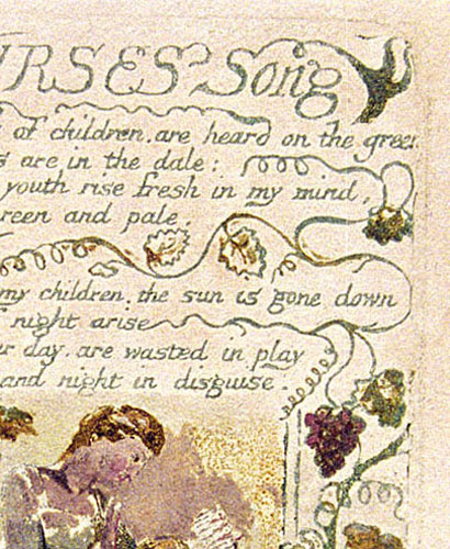 nurses song william blake
